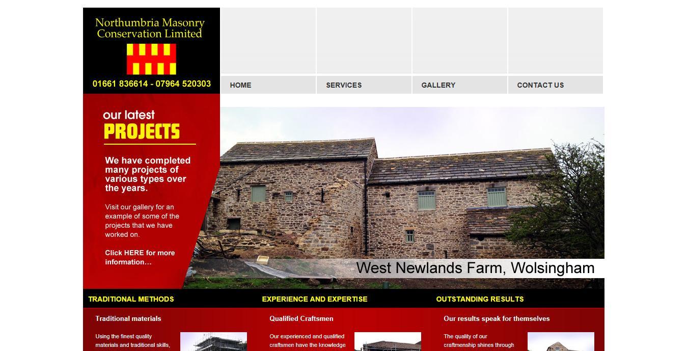 Northumbria Masonry Conservation